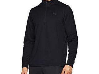 Under Armour Men s Armour Fleece 1 2 Zip T Shirt   Black  001 Black   XX large