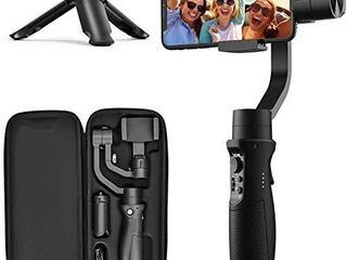 3 Axis Gimbal Stabilizer for iPhone 12 11 PRO MAX X XR XS Smartphone Vlog Youtuber live Video Record with Sport Inception Mode Face Object Tracking Motion Time lapse   Hohem iSteady Mobile Plus