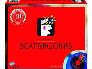 Winning Moves Scattergories 30th Anniversary Edition  Brown