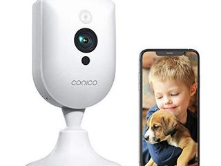Baby Monitor  Conico 1080P Home Security Indoor Camera with Sound Motion Detection IR Night Vision  Pet Camera with 2  Way Audio 8X Zoom  WiFi Camera Cloud Service Compatible with Alexa
