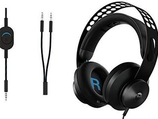 lenovo legion H300 Stereo Gaming Headset  Noise Cancelling Mic  Memory Foam   PU leather Earcups  Stainless Steel Headband  PC  PS4  Xbox One  Nintendo Switch  Mac  GXD0T69863  Black
