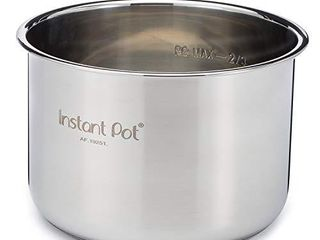 Instant Pot Stainless Steel Inner Cooking Pot   6 Quart