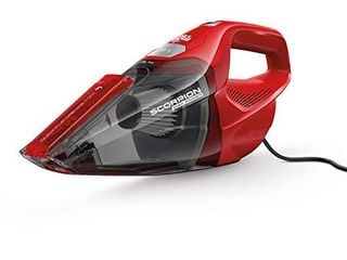 Dirt Devil Scorpion Handheld Vacuum Cleaner  Corded  Small  Dry Hand Held Vac With Cord  SD20005RED  Red  Design Might Vary