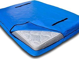Mattress Bag with 8 Handles for Moving and Storage   King Size   Reusable Cover with Strong Zipper Closure   Extra Thick Mattress Protection Mattsafe