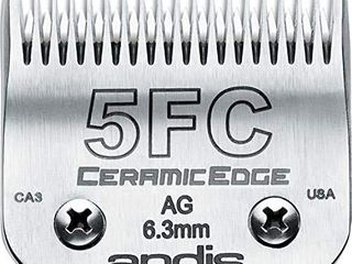 Andis CeramicEdge Carbon Infused Steel Pet Clipper Blade  Size 5FC  1 4 Inch Cut length  64370