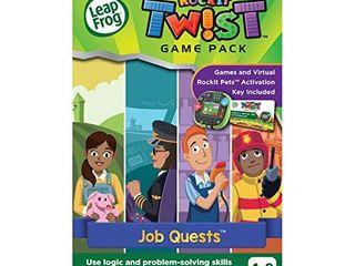 leapFrog Rockit Twist Game Pack  Job Quests
