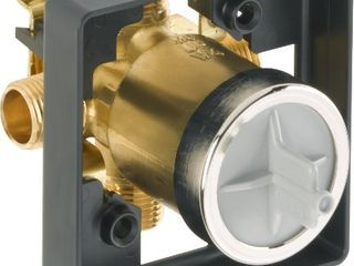 Delta Faucet R10000 UNBX MultiChoice Universal Tub and Shower Valve Body for Tub Faucet Trim Kits