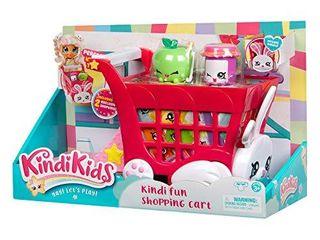 Kindi Kids S1 Kindi Fun Shopping Cart  Multicolor