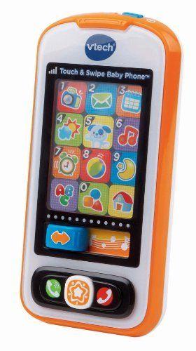 VTech Touch and Swipe Baby Phone  Orange