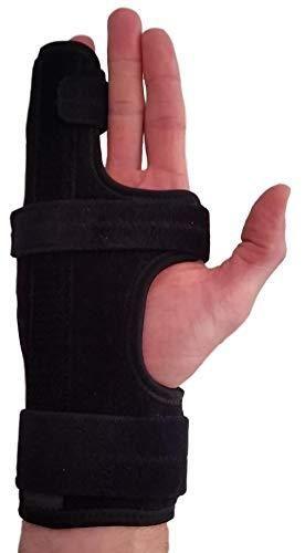 Metacarpal Finger Splint Hand BraceHand Brace   Metacarpal Support for Broken Fingers  Wrist   Hand Injuries or little Finger Fracture  Right   large Xl