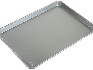 Chicago Metallic Commercial II Traditional Uncoated 16 3 4 by 12 Inch Jelly Roll Pan  Set of 2