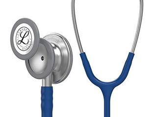 3M littmann Classic III Monitoring Stethoscope  Navy Blue Tube  27 Inch  5622
