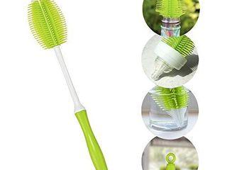 Innobaby 2 in 1 Silicone Bottle Brush  Green