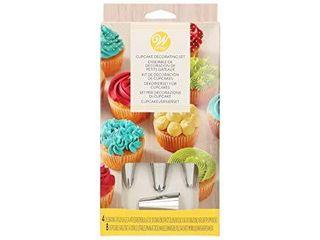Wilton Cupcake Decorating Icing Tips  12 Piece Set
