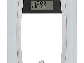 WW Scales by Conair Body Analysis Glass Bathroom Scale  Measures Body Fat  Body Water  Bone Mass   BMI  4 User Memory  400 lbs  Capacity