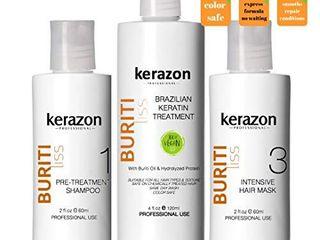 Clarifying Shampoo with Brazilian Keratin Treatment and Intensive Hair Mask KIT Tratamiento de Keratina Alisado 120ml