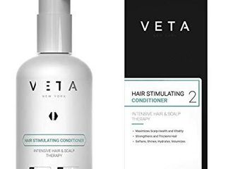 Veta Hair Stimulating Conditioner For Hair loss Anti Aging Hair Moisturizer Repair and Strengthen Hair Suitable for All Hair Types No Harsh Chemicals Paraben and Sulfate Free 8 5 fl  oz