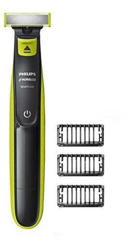 Philips Norelco OneBlade Hybrid Electric Trimmer and Shaver  FFP  QP2520 90