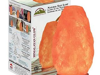 Himalayan Glow 1002 Crystal  Salt lamp  8 11 lbs