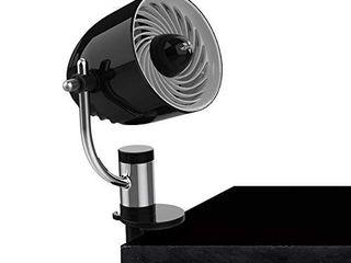 Vornado PivotC Personal Air Circulator Clip On Fan with Multi Surface Mount  Black