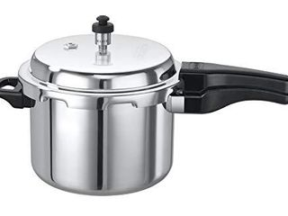 Elite Cookware   Aluminum Outerlid Stovetop Pressure Cooker   5 lts   Cook soups  rice  legumes and more