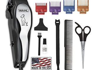 MISSING GUIDE COMBS Wahl Clipper Pet Pro Dog Grooming Kit   Quiet Heavy Duty Electric Corded Dog Clipper for Dogs   Cats with Thick   Heavy Coats   Model 9281 210