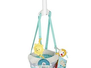Exersaucer Door Jumper with 4 Removable Toys  Sweet Skies