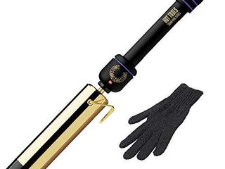 Hot Tools Signature Series Gold Flipperless Curling Wand Iron  1 1 2 Inch