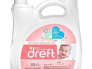Dreft Concentrated liquid Hypoallergenic Detergent 96 loads 150 Fl Oz