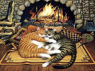 Buffalo Games   Charles Wysocki   All Burned Out   300 large Piece Jigsaw Puzzle