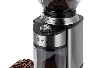 Sboly Automatic Conicap Burr Coffee Grinder
