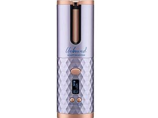 Unbound Cordless Auto Curler From Conair   The First High Performance Cordless  Rechargeable Auto Curler for Curls or Waves Anytime  Anywhere