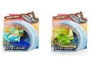 MGA Entertainment Shreddin  Sharks  2 Pack