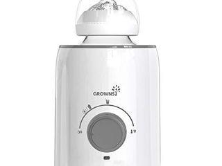 Bottle Warmer  5 in 1 Fast Baby Bottle Warmer Baby Food Heater Defrost BPA Free Warmer for Breastmilk and Formula