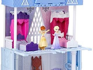 Disney Frozen Pop Adventures Arendelle Castle Playset with Handle  Including Elsa Doll  Anna Doll    7 Accessories   Toy for Kids Ages 3   Up