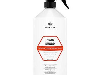 TriNova Non Aerosol Stain Guard   Fabric Protection Spray for Upholstery  Carpet  Rugs and More to protect from liquid stains  18 oz