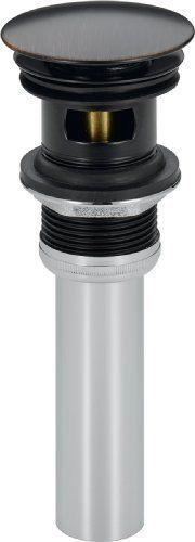 Delta Faucet 72173 RB Push Pop Up with Overflow  Venetian Bronze