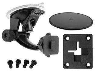 ARKON Windshield Dash Suction Car Mount for XM and Sirius Satellite Radios Single T and AMPS Pattern Compatible  Black   SR114