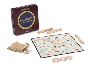 Winning Solutions Nostalgia Tin Scrabble Game