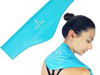 Arctic Flex Neck Ice Pack   Cold Compress Shoulder Therapy Wrap   Cool Reusable Medical Freezer Gel Pad for Swelling  Injuries  Headache  Cooler   Flexible Hot Microwaveable Heat   Men  Women  1 Pack