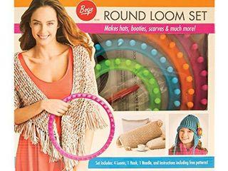 Boye Round Knitting loom Set  7pc  5 5  7 5  9 5  and 11 5  D