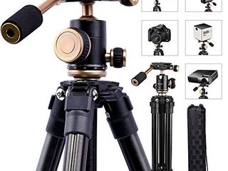 YoTilon Camera Tripod for DSlR  Portable lightweight Travel Tripod for Camera  360 Degree SlR Ball Tripods with 1 4 Plate for Canon Nikon Sony  Best Choice for Travel and Work