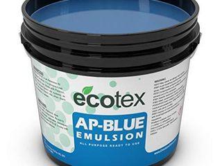 Ecotex AP Blue All Purpose Ready to Use Screen Printing Emulsion Quart   32 oz