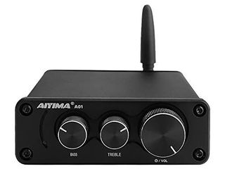 AIYIMA A01 Bluetooth 5 0 Dual Channel HiFi TPA3116 Stereo Digital Audio Amplifier Receiver Class D Integrated Amp 2 0CH For Home Speakers 50Wx 2 With Treble   Bass Control Without power supply