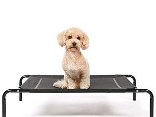 HACHIKITTY Raised Dog Beds Medium Dogs  Portable Outdoor Dog Beds large  Dog Cot Bed Outdoor Use  Medium