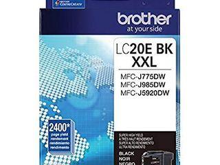 Brother lC20EBK Super High Yield Black Ink Cartridge