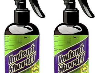 Rodent Sheriff Pest Control   Ultra Pure Peppermint Spray   Repels Mice  Raccoons  Ants  and More   Made in USA  2
