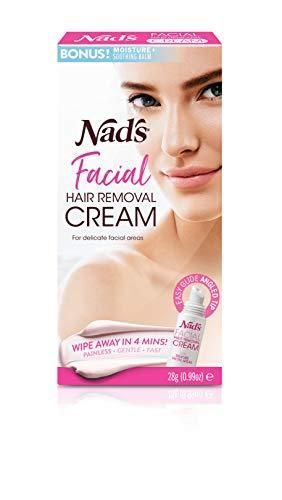Nad s Facial Hair Removal Cream   Gentle   Soothing Hair Removal For Women   Sensitive Depilatory Cream For Delicate Face Areas  0 99 Oz  4446