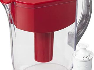 Brita Standard Grand Water Filter Pitcher  large 10 Cup  Red