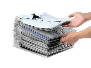 Seatopia 20 Pack Tee Shirt Organizer Clothing Dividers Closet Organizer Tray Document Organizer